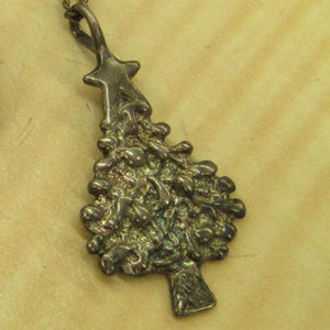 925 sterling silver necklace Christmas tree